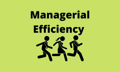 Managerial Efficiency
