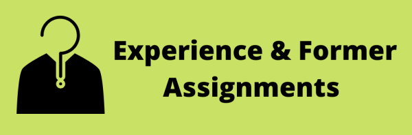 Experience in management